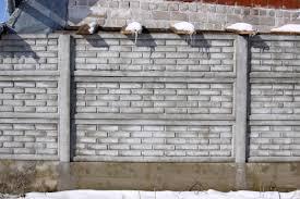 A betonkerítés minőségi termék